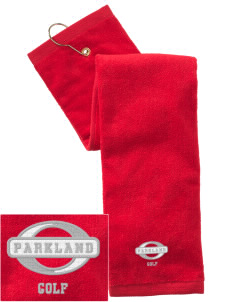 Parkland High School Trojans Embroidered Hand Towel with Grommet