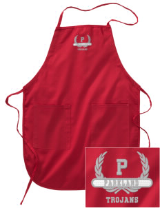 Parkland High School Trojans Embroidered Full Length Apron