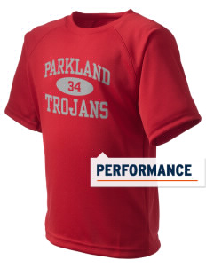 Parkland High School Trojans  Kid's Dry Zone T-Shirt