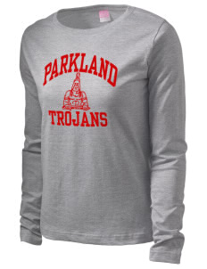 Parkland High School Trojans  Women's Long Sleeve T-Shirt