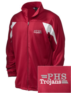 Parkland High School Trojans Embroidered Holloway Men's Full-Zip Track Jacket