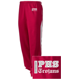 Parkland High School Trojans Embroidered Holloway Men's Pivot Warm Up Pants