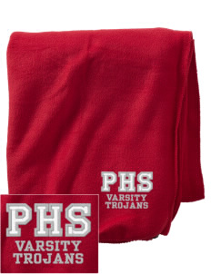 Parkland High School Trojans Embroidered Holloway Stadium Fleece Blanket
