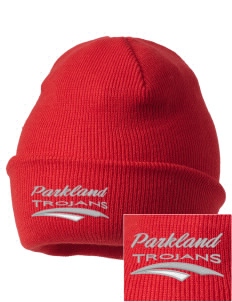Parkland High School Trojans Embroidered Knit Cap
