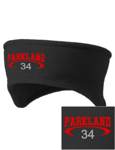 Parkland High School Trojans Embroidered Fleece Headband