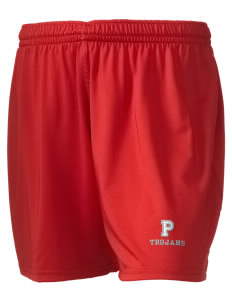 "Parkland High School Trojans Embroidered Holloway Women's Performance Shorts, 5"" Inseam"