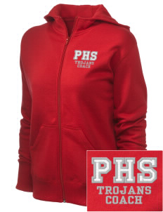 Parkland High School Trojans Women's Full Zip Hooded Jacket