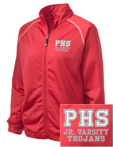 Parkland High School Trojans Embroidered Holloway Women's Attitude Warmup Jacket