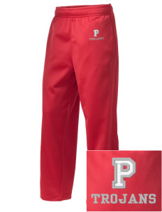 Parkland High School Trojans Embroidered Holloway Kid's Contact Warmup Pants