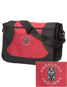 Parkland High School Trojans Embroidered Midcity Messenger Bag