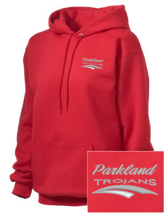 Parkland High School Trojans Embroidered Unisex Hooded Sweatshirt