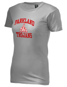 Parkland High School Trojans Alternative Women's Basic Crew T-Shirt