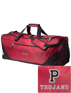 Parkland High School Trojans Embroidered Holloway Colossal X-Large Duffel Bag