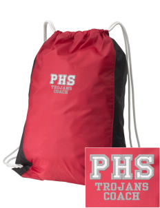 Parkland High School Trojans Embroidered Holloway Home and Away Cinch Bag