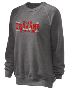 Parkland High School Trojans Unisex Alternative Eco-Fleece Raglan Sweatshirt