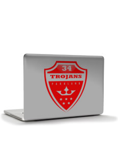 "Parkland High School Trojans Apple Macbook Pro 17"" (2008 Model) Skin"