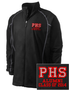 Parkland High School Trojans Embroidered Men's Nike Golf Full Zip Wind Jacket