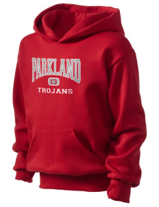 Parkland High School Trojans Kid's Hooded Sweatshirt