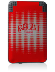 Parkland High School Trojans Kindle Keyboard 3G Skin