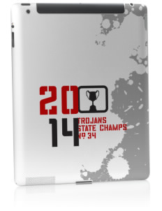 Parkland High School Trojans Apple iPad 2 Skin