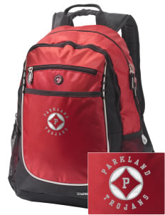 Parkland High School Trojans Embroidered OGIO Carbon Backpack