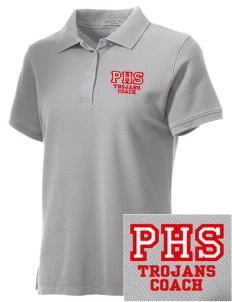 Parkland High School Trojans Embroidered Women's Performance Plus Pique Polo