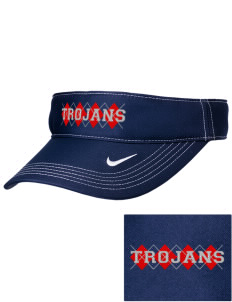 Parkland High School Trojans Embroidered Nike Golf Dri-Fit Swoosh Visor