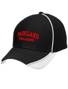 Parkland High School Trojans Embroidered New Era Contrast Piped Performance Cap