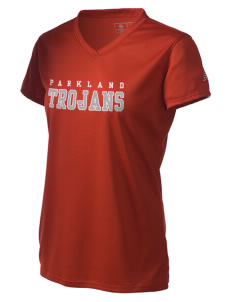 Parkland High School Trojans Women's New Balance Ndurance Athletic V-Neck T-Shirt