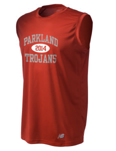 Parkland High School Trojans Men's New Balance Ndurance Athletic Workout T-Shirt