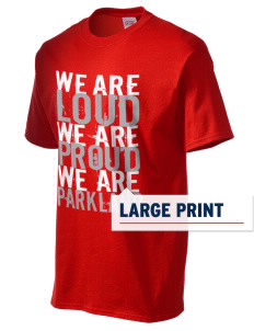 Parkland High School Trojans Men's Essential T-Shirt with Large Print Designs