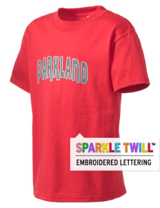 Parkland High School Trojans Kid's Essential T-Shirt with Sparkle Twill™
