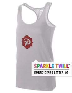 Parkland High School Trojans Women's Racerback Tank with Sparkle Twill™