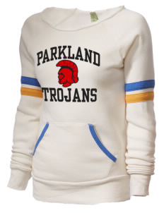 Parkland High School Trojans Alternative Women's Maniac Sport Crewneck Sweatshirt