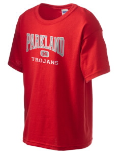 Parkland High School Trojans Kid's 6.1 oz Ultra Cotton T-Shirt