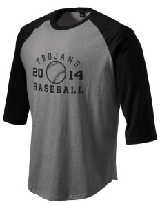 Parkland High School Trojans Men's Baseball T-Shirt