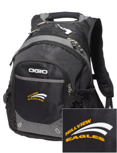 Hillview Intermediate Center Eagles Embroidered OGIO Fugitive Backpack