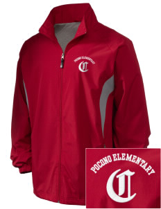 Pocono Elementary Center Cardinals Embroidered Holloway Men's Full-Zip Jacket