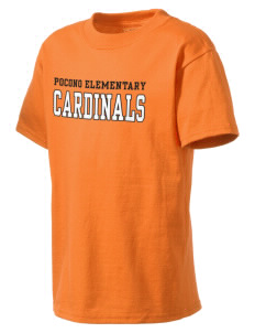 Pocono Elementary Center Cardinals Kid's Lightweight T-Shirt
