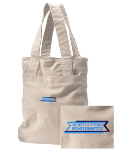 North Penn High School Knights Embroidered Alternative The Berkeley Tote