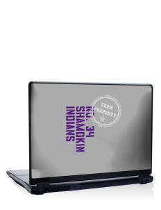 "Shamokin Area Elementary School Indians 17"" Laptop Skin"