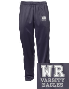 Warrior Run Middle School Eagles Embroidered Men's Tricot Track Pants