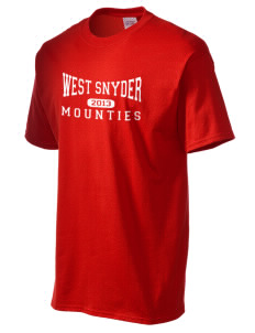 West Snyder High School Mounties Men's Essential T-Shirt