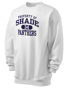 Shade Elementary School Panthers Men's 7.8 oz Lightweight Crewneck Sweatshirt