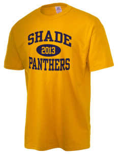 Shade Elementary School Panthers  Russell Men's NuBlend T-Shirt