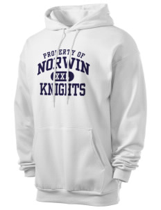 Norwin High School Knights Men's 7.8 oz Lightweight Hooded Sweatshirt