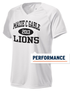 Mazie C Gable Elementary School Lions Holloway Women's Zoom Performance T-Shirt
