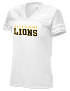 Mazie C Gable Elementary School Lions Holloway Women's Fame Replica Jersey