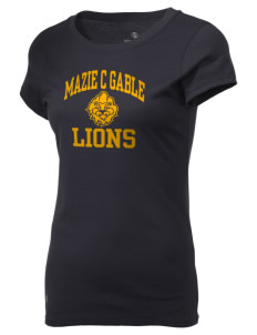 Mazie C Gable Elementary School Lions Holloway Women's Groove T-Shirt