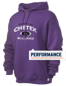 Chetek High School Bulldogs Russell Men's Dri-Power Hooded Sweatshirt